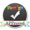 Awarded Famigo's Badge of APProval