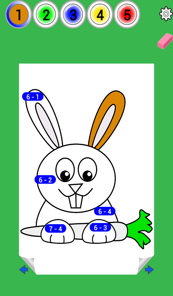 Easter Math Coloring Book | Bugaboo Math Games